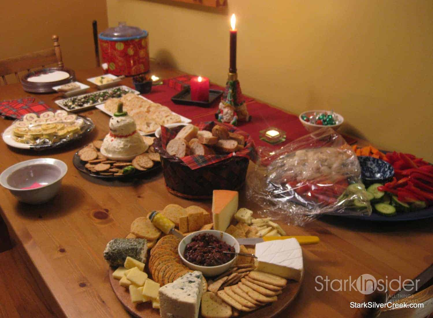 Holiday eats potluck appetizers tips for christmas eve parties this forumfinder Image collections