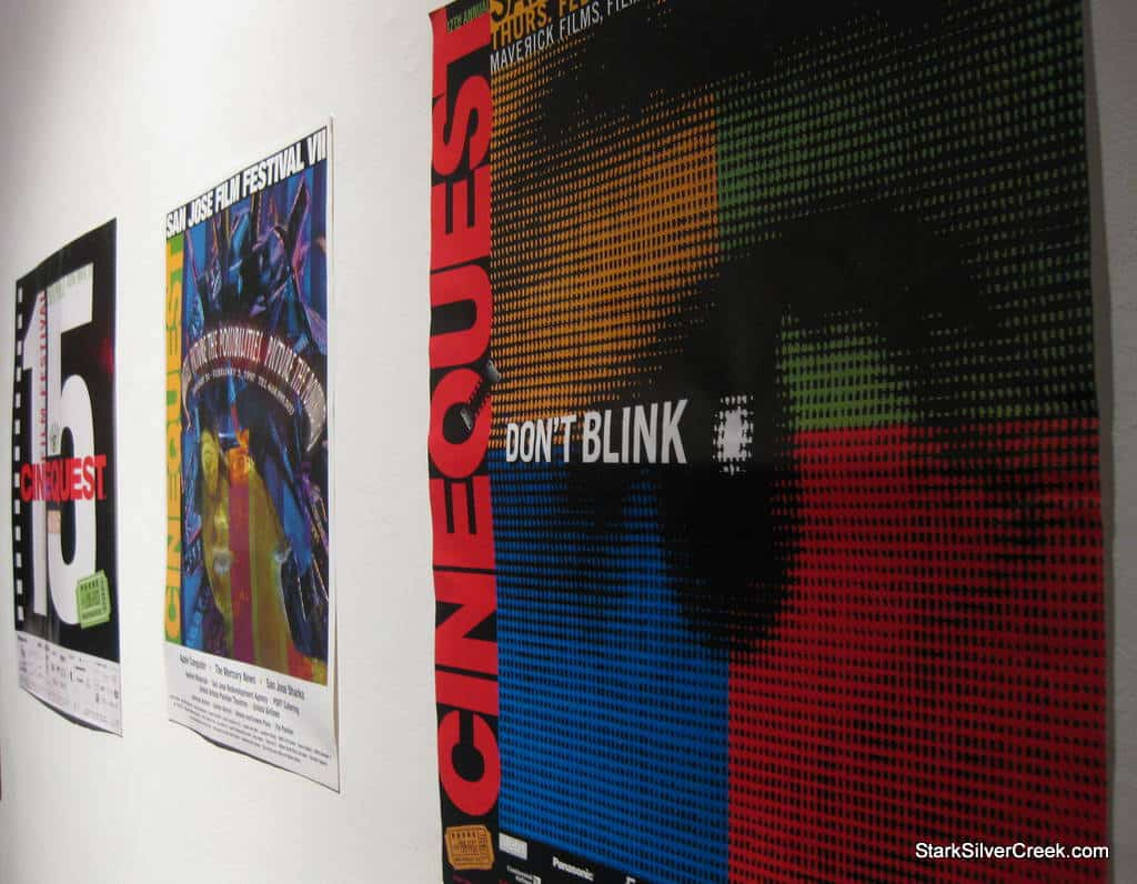 Posters from past Cinequest Film Festivals.