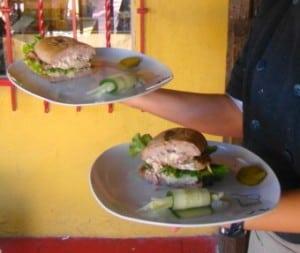 Danzante Sandwich - turkey ambrosia