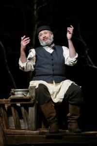 Harvey Fierstein as Tevye  Photo by Carol Rosegg