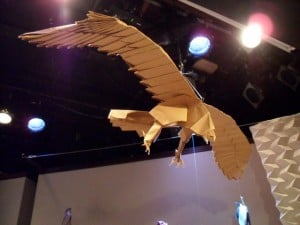 Origami hawk by Robert Lang