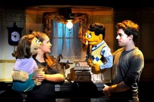 Broadway San Jose presents AVENUE Q National Tour 2009 Kate Monster, Jacqueline Grabois, Princeton, Brent Michael DiRoma © John Daughtry 2009