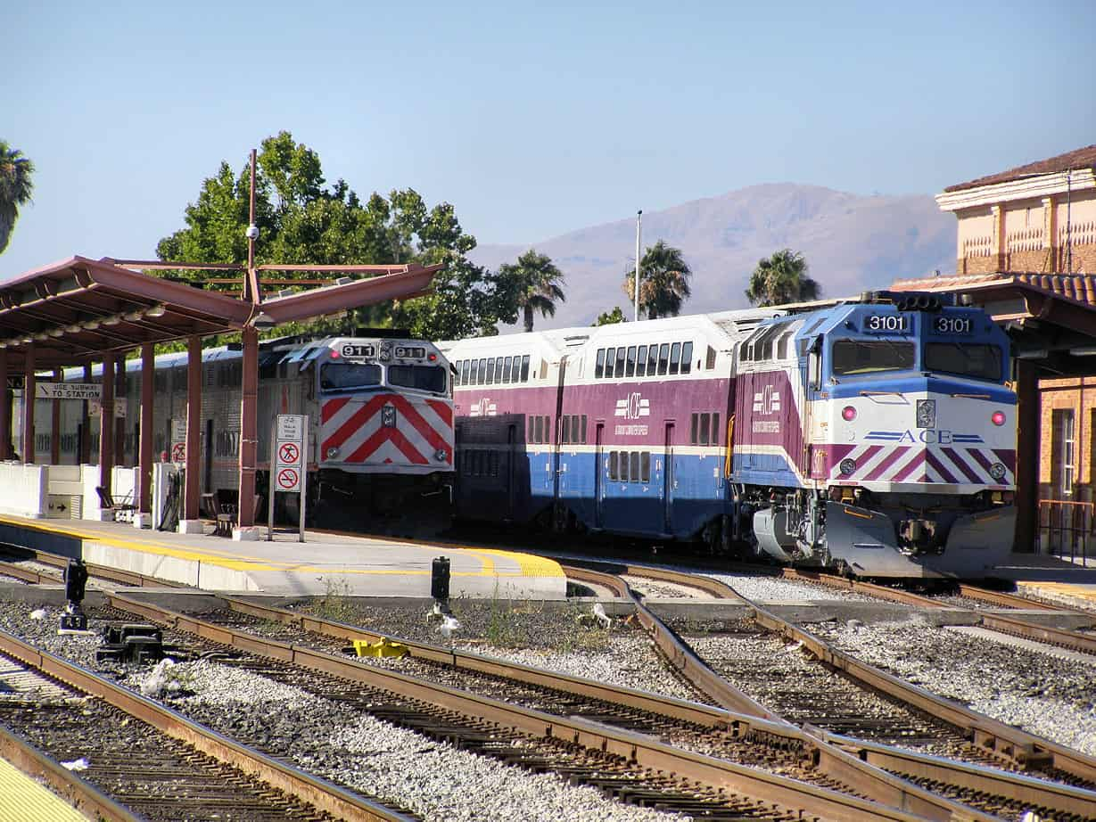 Cal Train Station
