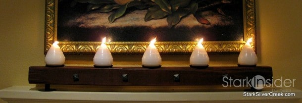 Wine Country Inspired candle holder - how to