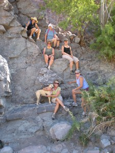 Hikers find comfy resting spots in Premier Agua
