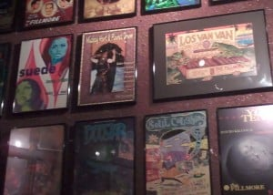 Posters at The Fillmore