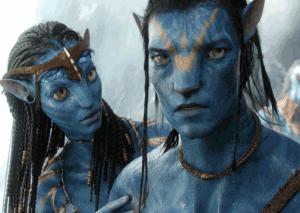 Avatar: Blue people, big eyes