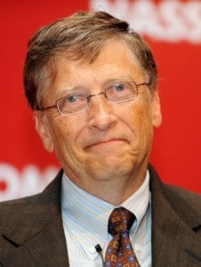 Bill Gates Talks Terrapower at TED. Photo: AFP.