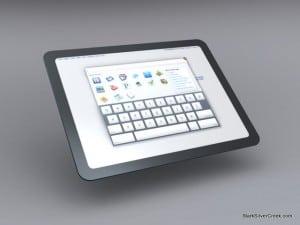 Google Tablet Chome OS UI concept