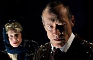 Karen Grassle and James Carpenter in John Gabriel Borkman  Photo by David Allen