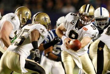 New Orleans Saints Win the Super Bowl