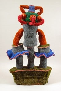 Ted Fullwood: Energy Machines, woven pipe cleaners, size variable, Courtesy of the Artist.