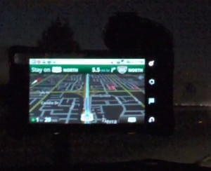Night mode on Google Maps Navigation, Moto Droid