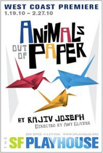 Animals Out of Paper by Rajiv Joseph