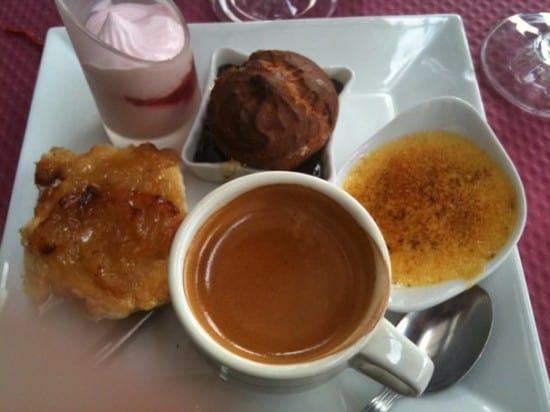 Breakfast in Paris... or is that dessert?