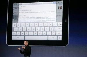 Apple iPad Steve Jobs