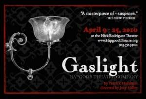Gaslight, Hapgood Theatre Company