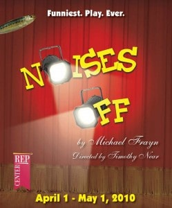 Noises Off directed by Timothy Near at Center REPertory in Walnut Creek