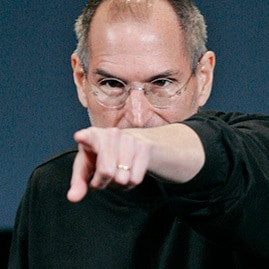 Steve Jobs: I'm talking to you Google (oh, and Adobe too)