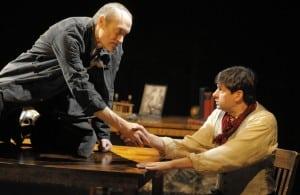 l-r, James Carpenter and Gabriel Marin in Black Box Theatre's World Premiere of Trevor Allen's THE CREATURE