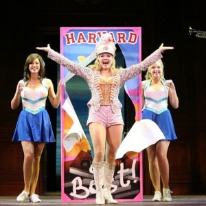 Becky Gulsvig as Elle Woods and the cast of the National Tour of Legally Blonde the Musical  at Broadway San Jose.