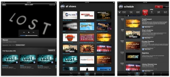 ABC Player iPad