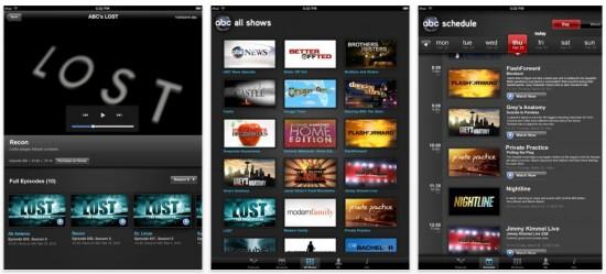 ABC Player iPad