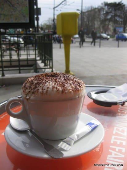 Cafe Messena Coffee, Paris