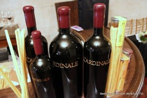 Toast of the Town Cardinale Tasting