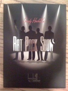 Sandy Hackett's Rat Pack Show Program Guide, San Francisco