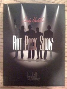 Sandy Hackett's Rat Pack Show Program Guide, San Francisco