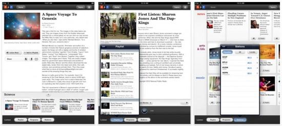 NPR on iPad