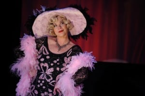 Judith Miller in Dirty Blonde at San Jose Stage Company, running through May 2. Photo by Dave Lepori.