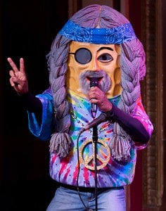 Hippie Peanut. Photo by Rick Markovich.