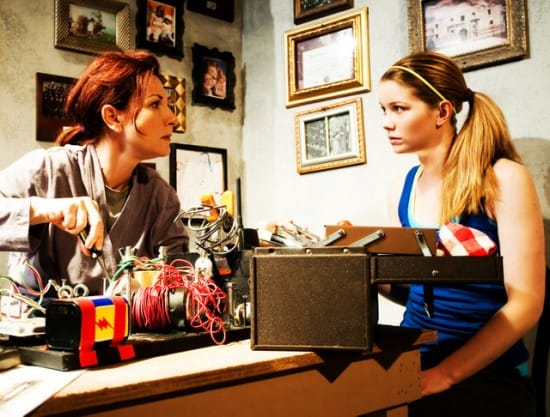 Susi Damilano, Melissa Quine in Slasher opening this weekend at SF Playhouse, San Francisco