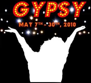 Gypsy Hillbarn Theatre Foster City Poster