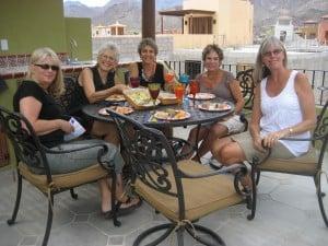Paula, Jane, Sharon, Ariel, Jesse, photo by Eve