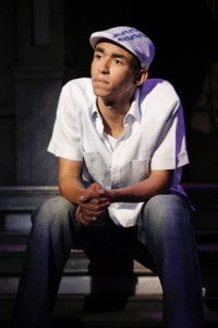 In The Heights: Kyle Beltran,  National Tour. Photo by Joan Marcus.