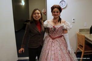 Loni Kao Stark with Tori Grayum of La Rondine by Opera San Jose