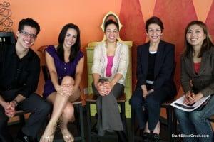 Cast of Sonia Flew San Jose Rep