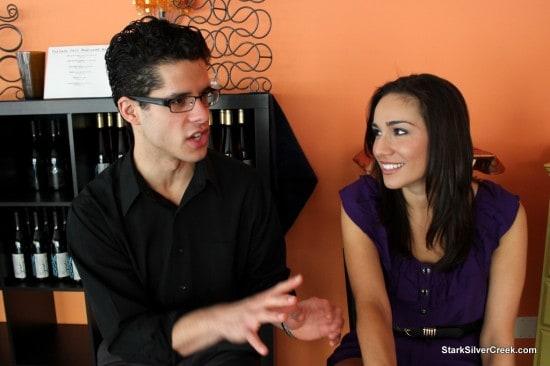 Miles Gaston Villanueva and Tiffany Ellen Solano discuss the play Sonia Flew
