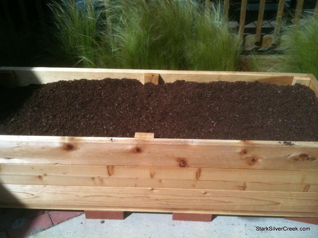 Building A Vegetable Planter Box For Mother S Day Stark