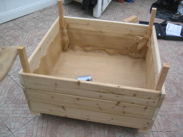 how to make a box garden follow how to make a box garden - How To Build A Planter Box