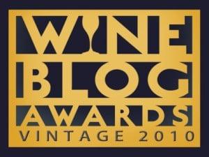 Wine Blog Awards Vintage 2010