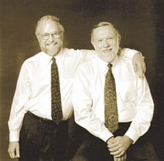 John Warnock and Chuck Geschke. Source: Adobe.