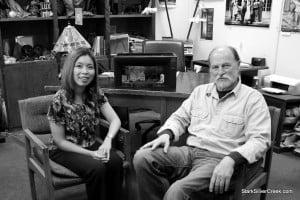 Robert Kelley, artistic director TheatreWorks, talks with Loni Kao Stark