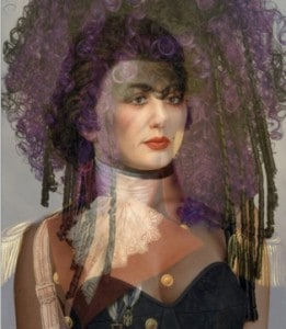 "Deborah Oropallo  Command Her 2008 Permanent pigment print on canvas 30""x26"""