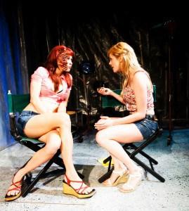 Melanie Sliwka, Tonya Glanz. Photos by Jessica Palopoli.