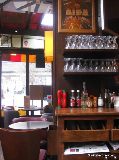 Cafe Bercy Paris glasses