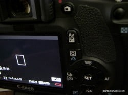 Canon T2i low battery warning